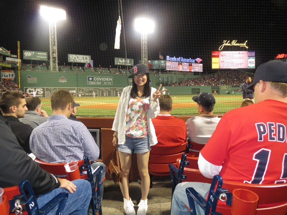 @Fenway Park in Boston